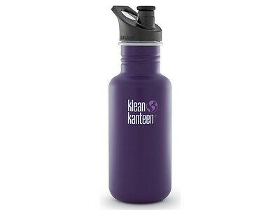 Klean Kanteen Classic 532Ml Water Bottle With Sport Cap (Berry Syrup)