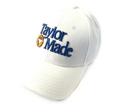 NEW TaylorMade Retro 1983 White/Navy Bubble Adjustable Hat/Cap