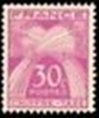 """FRANCE STAMP TIMBRE TAXE N° 68 """" TYPE GERBES 30c LILAS-ROSE """" NEUF x TB"""