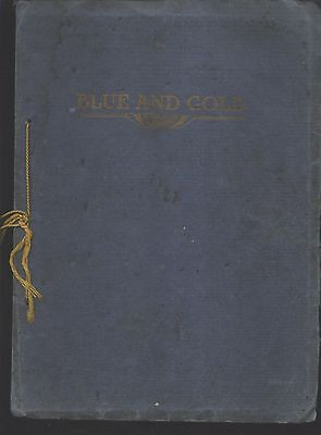 Cadillac MI High School yearbook 1914 Michigan