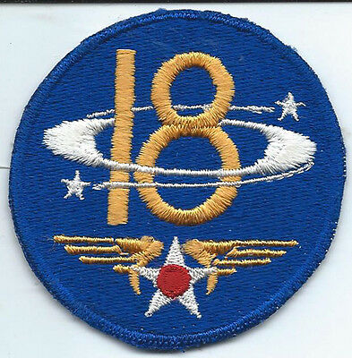 1940's 18th Air Force Ghost / Phantom Unit Patch