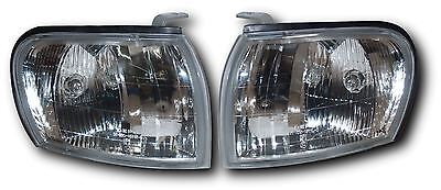 Subaru Impreza 93-00 Crystal Clear Chrome Driving Light Corner Lamp