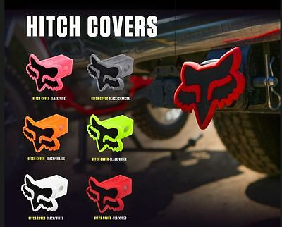 "Fox Racing Trailer Hitch 2"" Cover Pink, Green, Orange, Black, Red, White"