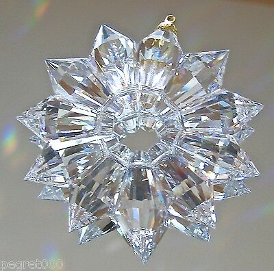 Preciosa Crystal Star  Ornament, 50mm