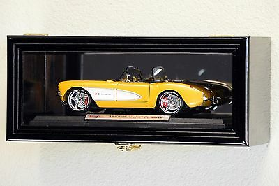 Single 1/18 Scale Diecast Model Car Display Case Cabinet Holder Die Cast Display