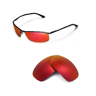 497e03b710 NEW WALLEVA POLARIZED Titanium Replacement For Ray-Ban RB3183 63mm ...