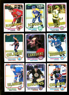 1981 Topps Hockey Complete Set Mint *inv1522