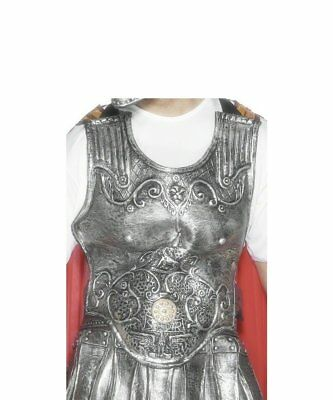 Roman Armour Breastplate Mens Gladiator Roman Fighter Fancy Dress Accessory