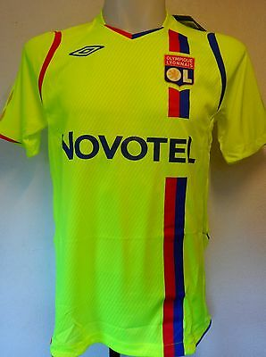Olympic Lyon 2008/09 S/s 3Rd Shirt  By Umbro Size Small Brand New With Tags