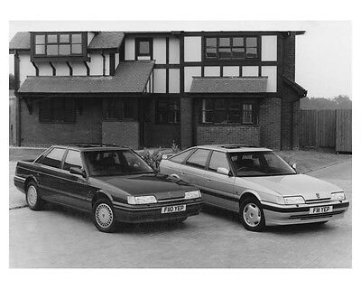 1989 Austin Rover 800 Sterling & Vitesse Fastback Automobile Factory Photo ch881