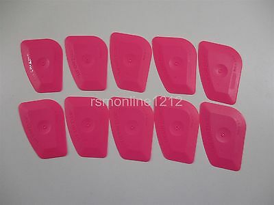 Lot of 10 Pink Lil' Chizler Window Film Tint Installation Tools NEW