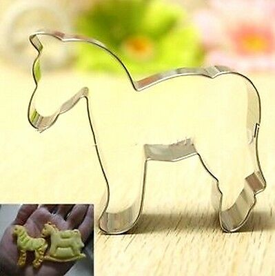 FD3035 Animal Horse Stainless Steel Biscuit Cookie Cutter Fondant Cake DIY Mold