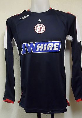 Shelbourne 2008 L/s Away  Shirt By Umbro Size Adults Small Brand New With Tags