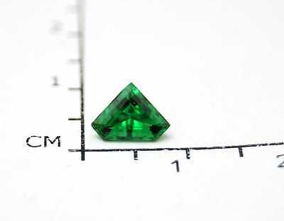 Facettierter Tsavorith ( 0.69 Carat ) 7,2 x 4,5 x 2,9 mm