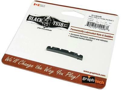 New Genuine Graph Tech BLACK TUSQ XL Slotted Nut for Precision Bass  PT-1204-00