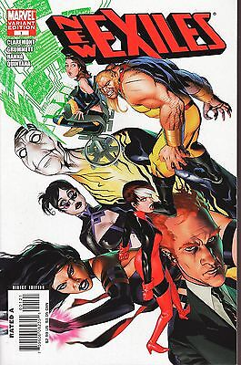 New Exiles No.1 / 2008 Variant Cover Edition