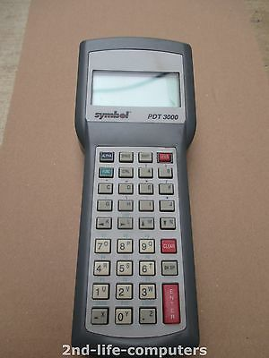 SYMBOL PDT3000-D0F03000 PDT 3000 35-Key 4 LINE DISPLAY BLACK HANDHELD SCANNER