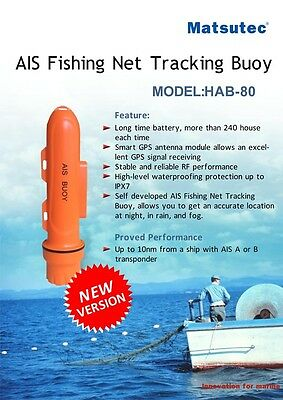 Marine AIS Fishing Net Tracking Buoy/ Locator AIS Equipent Ais Fishing Beacon