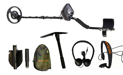 Visua VSEZMD Beginners Discriminating Metal Detector Headphones Batteries Pick