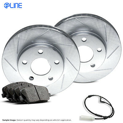 Nakamoto Rear Ceramic Brake Pad /& Rotor Kit for BMW 318i 318iS 323iC 325i 328i