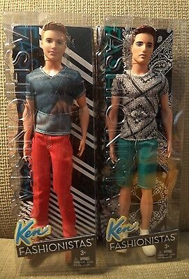 Barbie Fashionistas Ken & Ryan Doll  *nu*