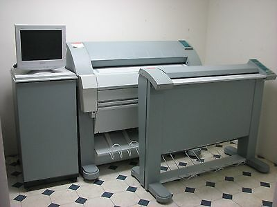 OCE TDS 400 Wide Format Printer Scanner Plotter Blue Print W/ Software