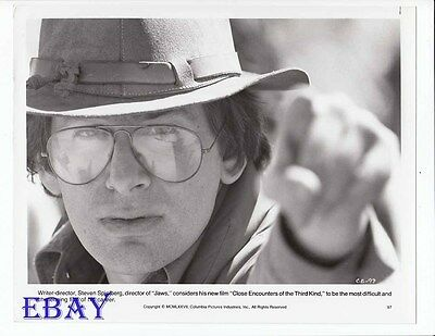 Steven Spielberg VINTAGE Photo Close Encounters Of The Third Kind
