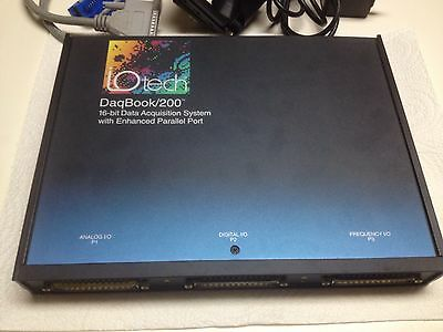 IOtech DAQbook 200 16 Bit Data Acquisition System IO Tech National Instruments
