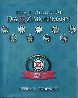 Day & Zimmerman Company Centennial History, Big 2001 Book + Letter