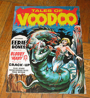 TALES OF VOODOO  VOL. 1  NO. 11  NOV. 1968