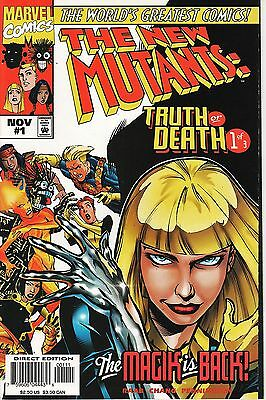 The New Mutants: Truth or Death No.1 / 1997