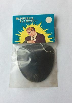 Vintage Nick Fury Eyepatch 1960's Original old store stock