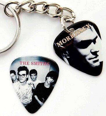 Morrissey The Smiths - Guitar Pick Keyring Two Sided