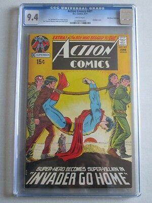 Action Comics #401 1971 CGC 9.4 White Pages Don Rosa Collection