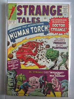 Strange Tales Vol. 1 (1951-1976) #121 VF+ UK Price Variant