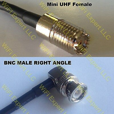 USA-CA RGU178  PL259 UHF Male to MCX MALE Coaxial RF Pigtail Cable