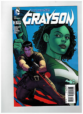 GRAYSON #3  Variant Cover  1:25 - The New 52!                   / 2014 DC Comics