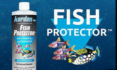 KORDON*Fish Protector*Instant Water Conditioner with Vitamin B12 and 118,473 ml