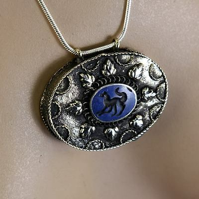 BellyDance ATS tribal PENDANT (Chain not included) Afghani Kuchi 731b9