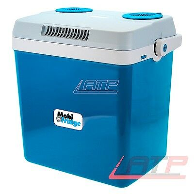 Car Fridge Hot Thermo Insulated Ice Box 12V/220V 32 L