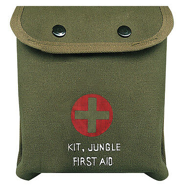 Rothco M-1 Jungle First Aid Kit - Od