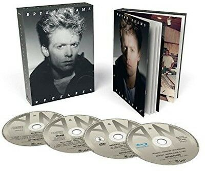 Bryan Adams - Reckless [New CD] With Blu-Ray Audio, With DVD, Deluxe Edition