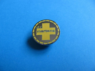Genuine Dr Martens Logo Pin badge. Unused. VGC. Enamel.