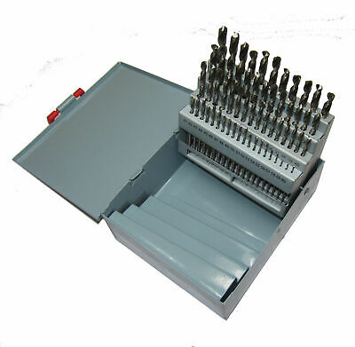 Rdgtools 25Pc Cobalt Fully Ground 1 - 13Mm Drill Set Drillng Engineering Tools