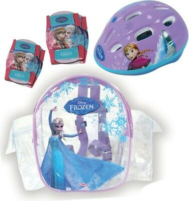 Disney Frozen Activity Protection Safety Set | Helmet, Elbow Pads, and Knee Pads