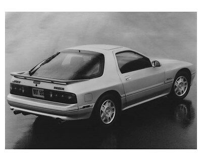 1989 Mazda Rx7 GXL Automobile Photo Poster zch8695