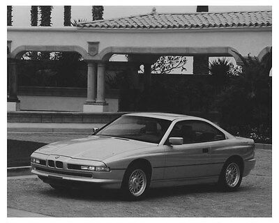 1992 BMW 850i Automobile Photo Poster zch8713