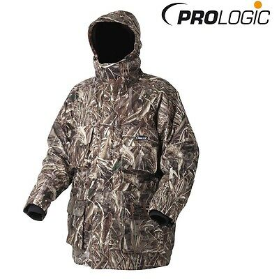 Prologic Max5  Realtree Thermo Armour Jacket Waterproof Fishing Hunting Coat