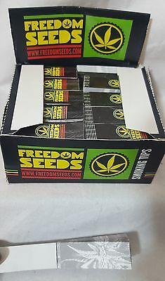 Filter TIPS 10  Booklets Smoking Card roach roaches RIZLA FREEDOM SEEDS