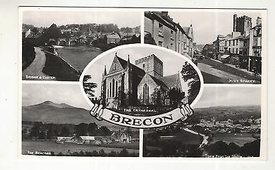wales welsh postcard united kingdom brecon